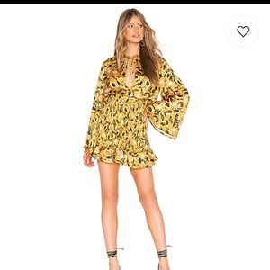 NWT Tularosa Ryder Dress in Marigold Blossom